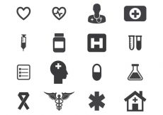 Free vector Free Medical Icon Set Vector #1702