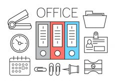 Free vector Free Office Icons #1237