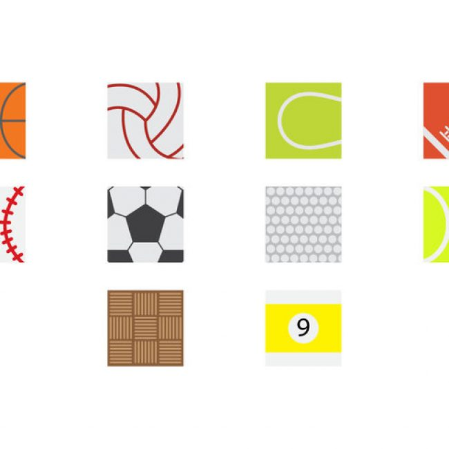 Free vector Free Sport Ball Surface Icon Vector #1796