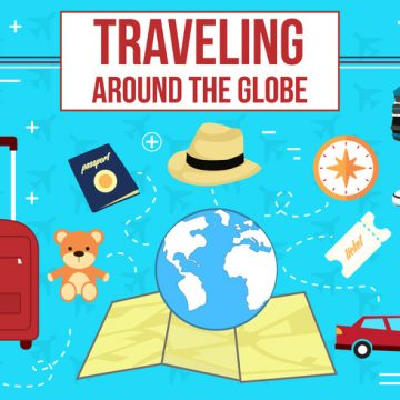 Free vector Free Travelling Vector Icons #861