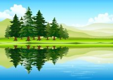 Free vector Free vector about free cartoon nature pictures #13