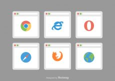 Free vector Free Web Browser Vector Icons #1710