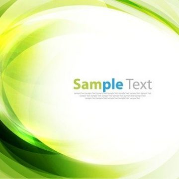 Free vector Green Abstract Art Background #3135
