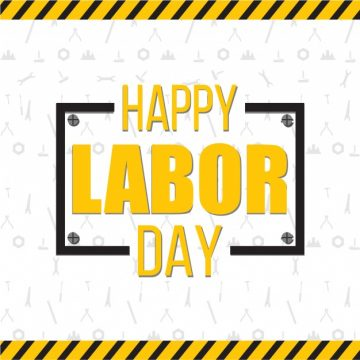 Free vector Happy labor day background #2640