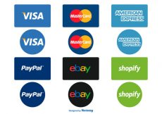 Free vector Payment Options Icon Set #427