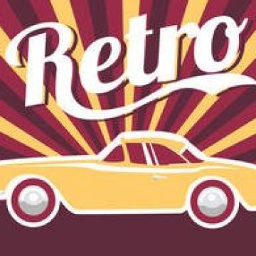 Free vector Poster Car Retro #2346