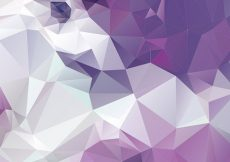 Free vector Purple Polygonal Abstract Background #3528