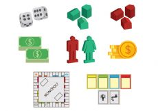 Free vector Set Of Monopoly Icons #1479