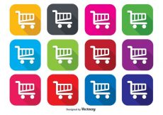 Free vector Shopping Cart Icons #3289