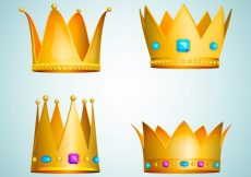 Free vector Simple crown collection #754