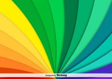 Free vector Vector Abstract Rainbow Background #173