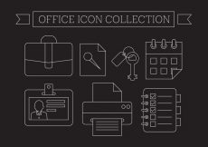 Free vector Free Office Icons #1241