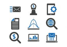 Free vector Marketing Icon Set #1053