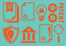 Free vector Patent Idea Property Icons #3595