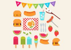 Free vector Picnic Icon Set #971