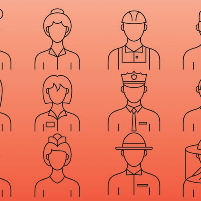 Free vector Professionals Line Icons #1958