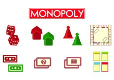 Free vector Set Of Monopoly Icons #1471