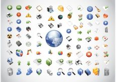 Free vector Web Icons Pack #3325