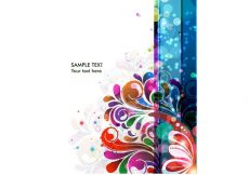 Free vector Abstract Background Vector Colorful Background #10965