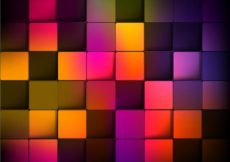 Free vector Abstract Background with Colorful Squares #4477