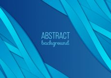 Free vector Abstract background with forms in blue tones #6557