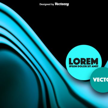Free vector Abstract Blue Wave Vector #12118
