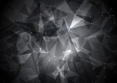 Free vector Abstract global technology background with connecting dots #8332