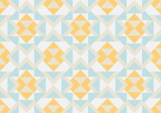 Free vector Abstract pastel geometric pattern background #11448