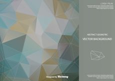 Free vector Abstract Polygonal Vector Background #11150