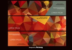 Free vector Abstract Polygonal Vector Background #11238