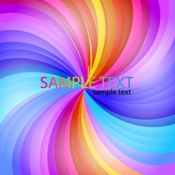 Free vector Abstract Rainbow Stripe #4447