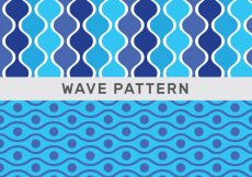 Free vector Abstract wave patterns #3685