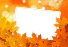 Free vector Autumn leaves Vector Backgrounds #7431