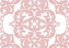 Free vector Baroque ornamental pattern background #5901