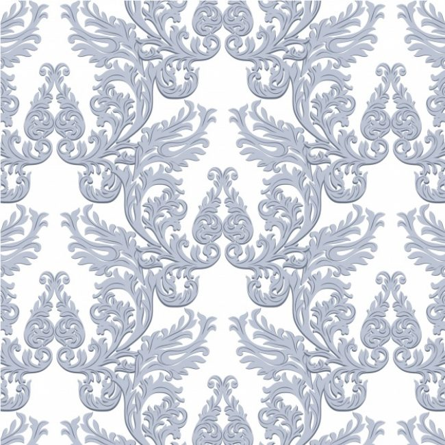 Free vector Blue ornamental pattern background #5903