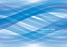 Free vector Blue Wave Abstract Vector Background #3736