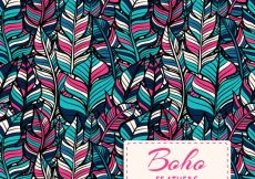 Free vector Boho style pattern design #8133