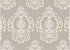 Free vector Brown and beige ornamental background #5717