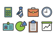 Free vector Business Icon Set #5202
