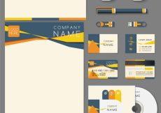 Free vector Business stationery design #4868