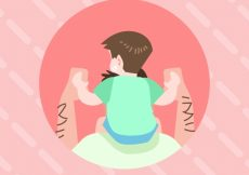 Free vector Child background on his father shoulders #8720