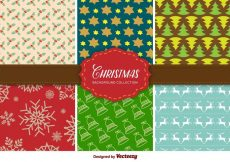 Free vector Christmas Background Collection #12152