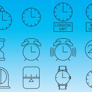 Free vector Clocks And Time Icon Vectors #8515
