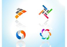 Free vector Colorful Logo Icons #8933