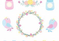 Free vector Decorative elements collection #8450