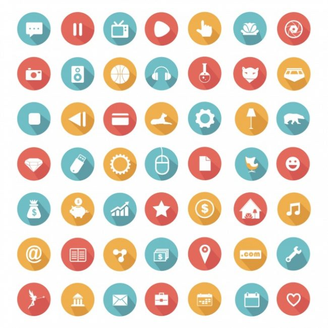 Free vector Element icons collection #8956