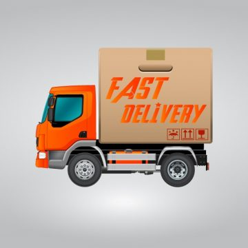 Free vector Fast delivery truc #12213