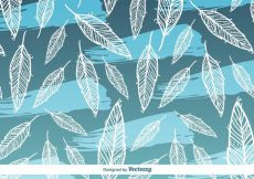 Free vector Feather Vector Background Pattern #12024