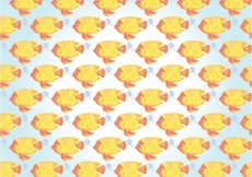 Free vector Fishes pattern design #10972