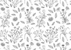 Free vector Floral pattern background #4059